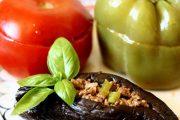 غذاهای محلی غذاهای ایرانی آموزش آشپزی دلمه بادنجان