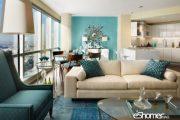 ویژگی های رنگ های عنصر آب در فنگ شویی در طراحی داخلی