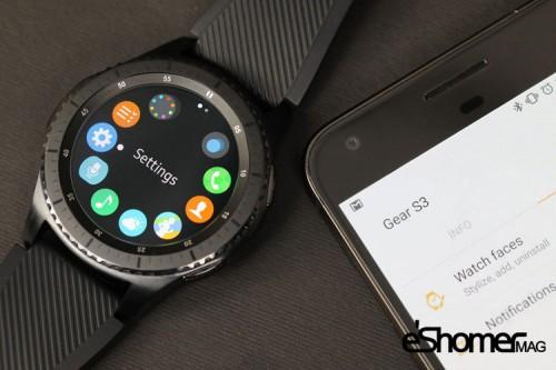 مجله خبری ایشومر گجت-جدید-سامسونگ-ساعت-گیر-اسپرت گجت هوشمند جدید سامسونگ ساعت گیر اسپرت (Gear Sport) تكنولوژي نوآوری  هوشمند گیر اسپرت گجت سامسونگ ساعت