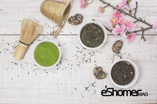 درمان خانگی بیماری کبد چرب با مواد طبیعی ،چای سبز