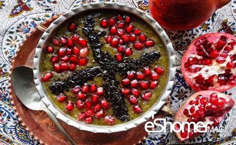 غذاهای محلی غذاهای ایرانی آموزش آشپزی ، آش انار شیراز