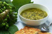 غذاهای محلی غذاهای ایرانی آموزش آشپزی ، آش برگ مو تبریز