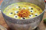 غذاهای محلی غذاهای ایرانی آموزش آشپزی ، آش خیار چنبر همدان