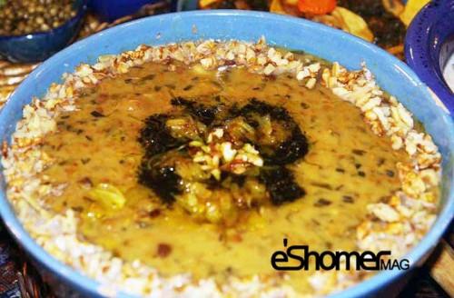 غذاهای محلی غذاهای ایرانی آموزش آشپزی ، آش دانه کولانه کردستان