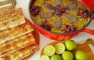 غذاهای محلی غذاهای ایرانی آموزش آشپزی ، آش سبزی شیراز
