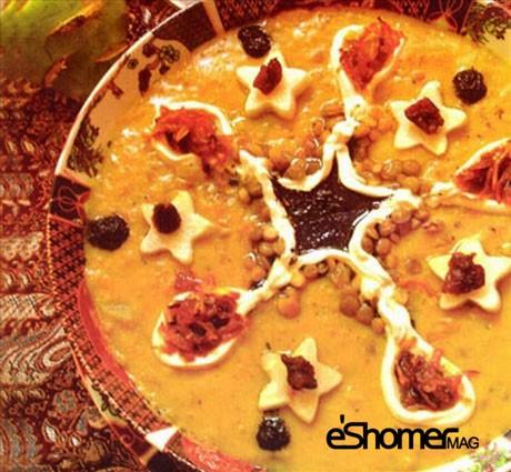 غذاهای محلی غذاهای ایرانی آموزش آشپزی ، آش قنبید (قنبیت) قم