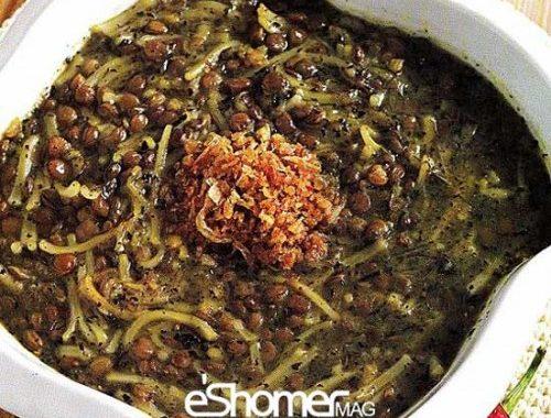 غذاهای محلی غذاهای ایرانی آموزش آشپزی ، آش پرپوله کردستان