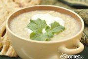 غذاهای محلی غذاهای ایرانی آموزش آشپزی ، آش کاچی همدان