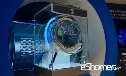 مجله خبری ایشومر ماشین-لباس-شویی-سامسونگ-هوش-مصنوعی جدیدترین ماشین لباس شویی سامسونگ بر پایه هوش مصنوعی تكنولوژي نوآوری  هوش مصنوعی ماشین لباسشویی سامسونگ