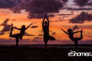 مراحل آسانا ( حرکات یوگا ) یوگا درمانی