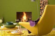 هماهنگی رنگ ها با رنگ زرد در طراحی داخلی
