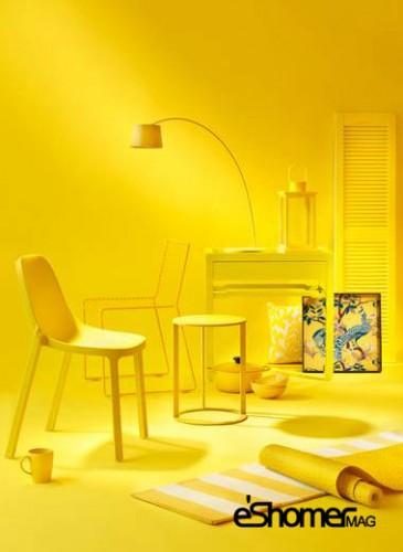 مجله خبری ایشومر کاربرد-رنگ-زرد-طراحی-داخلیمجله-خبری-ایشومر کاربرد رنگ زرد در طراحی داخلی قسمت اول هنر هنر و معماری  طراحی داخلی رنگ زرد رنگ در طراحی داخلی