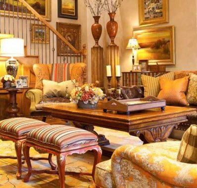 کاربرد رنگ نارنجی در طراحی داخلی فضاهای گوناگون