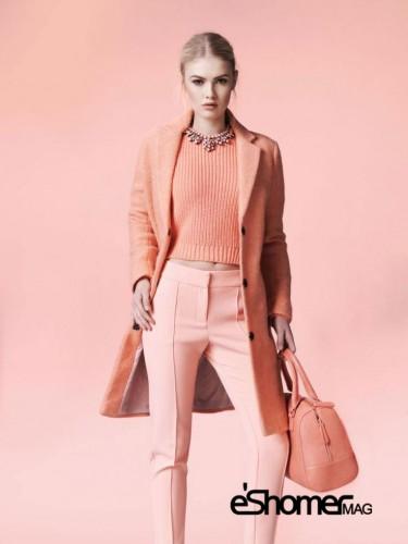 اثرات روانی رنگها در طراحی مد و لباس، رنگ صورتی