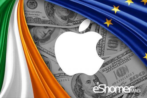 دولت ایرلند به خاطر اپل از طرف اتحادیه اروپا جریمه می شود