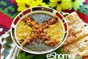 غذاهای محلی غذاهای ایرانی آموزش آشپزی ، آش غلغل خوزستان