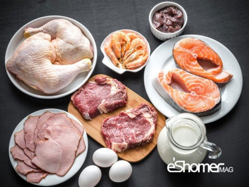 مهمترین منابع غذایی دارای ویتامینB12 ویتامین ب12 در رژیم غذایی