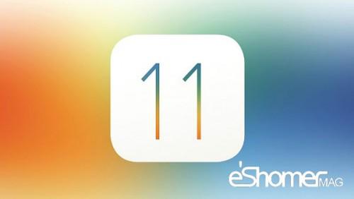 موفقیت ios10 در برابر ios11