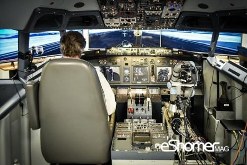 مجله خبری ایشومر Aurora-Flight-Sciences-ALIAS-autonomous-co-pilot فرود موفق شبیهسازی شده  هواپیمای 737 به وسیله روبات تكنولوژي نوآوری  شبیه سازی ربات
