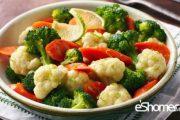 میزان مصرف روزانه سبزیجات در رژیم غذایی افراد