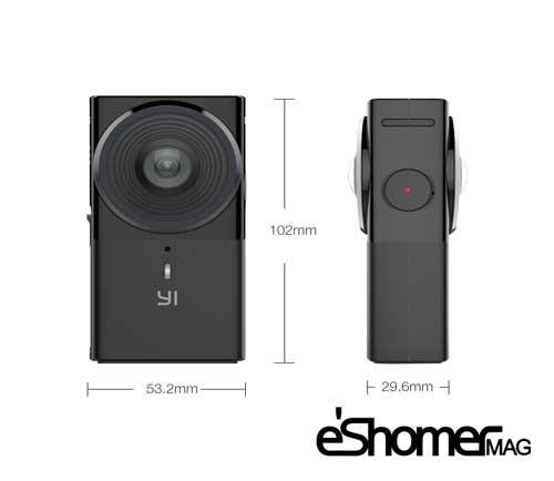 مجله خبری ایشومر دوربین-YI360-VR-امکان-چرخیدن-360-درجه-در-ویدیو-با-کیفیت-بالا-مجله-خبری-ایشومر دوربین YI360 VR امکان چرخیدن 360 درجه در ویدیو با کیفیت بالا تكنولوژي نوآوری  ویدئو کیفیت بالا دوربین چرخیدن 360 درجه
