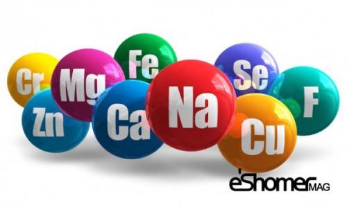 انواع مواد معدنی موجود در بدن و خواص درمانی آنها 2
