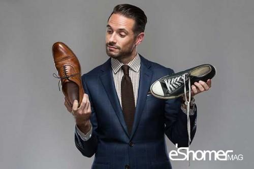 راهکار های صحیح در استفاده از کفش توسط آقایان