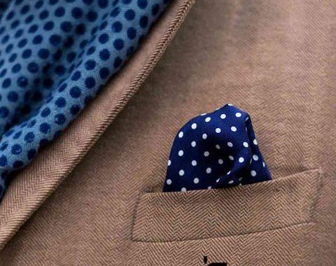 دستمال جیب از اکسسوری آقایان و نحوه صحیح استفاده آن