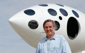 بازگشت برت روتان  به دنیای طراحی هواپیما