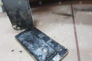 تصاویری از انفجار باطری  آیفون  6s  پس از شارژ - مجله خبری ایــــــــــــشومر