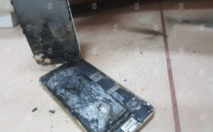 تصاویری از انفجار باطری  آیفون  6s  پس از شارژ – مجله خبری ایــــــــــــشومر