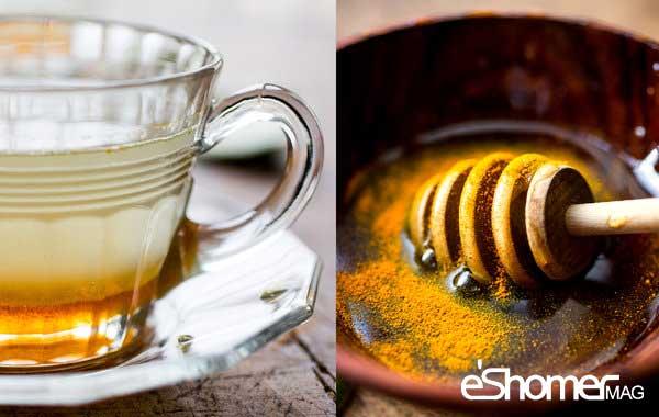 مجله خبری ایشومر Turmeric-and-honey-mag-eshomer زردچوبه و عسل یک آنتی بیوتیک خانگی بدون مواد افزودنی سبک زندگي سلامت و پزشکی مواد عسل زردچوبه خانگی بیوتیک بدون افزودنی آنتی