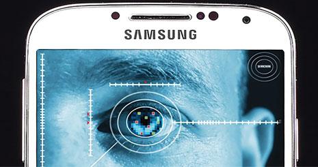 مجله خبری ایشومر mag-eshomer-samsung-scane-eye گلکسی S8 همراه با اسکنر چشم بسیار قوی تكنولوژي موبایل و تبلت گلکسی عنبیه سامسونگ چشم انگشت اثر S8