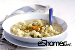 مجله خبری ایشومر Cauliflower-Soup-mag-eshomer-300x200 3 خوراک خوشمزه و ساده که می توان با گل کلم تهیه نمود آشپزی و غذا سبک زندگي گل کلم گراتینه گل کلم غذا سوپ گل کلم خوراک ساده اردوور