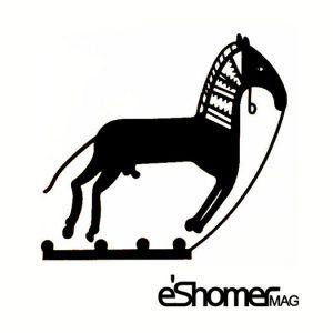 مفاهیم نمادین نقوش سفال در دوران پیش از تاریخ نقش اسب و گراز و ماهی و قوچ و آهو( بخش سوم)