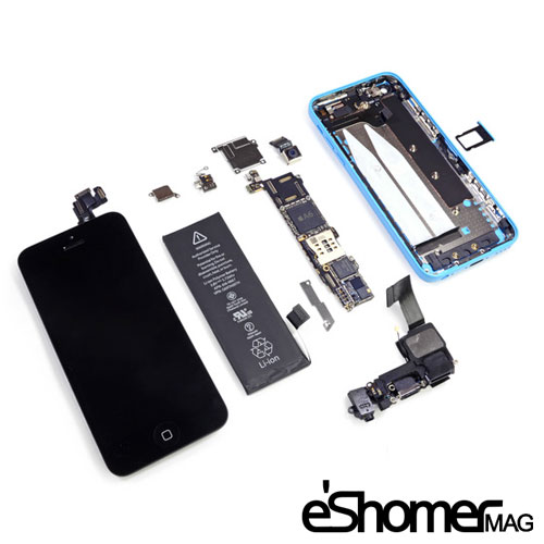 مجله خبری ایشومر Internal-components-of-smart-phones-and-tablets-mag-eshomer اجزای تشکیل دهنده داخلی تلفن های همراه هوشمند و تبلت ها تكنولوژي موبایل و تبلت هوشمند همراه موبایل دهنده داخلی تلفن تشکیل تبلت اجزای