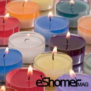 شمع درمانی و خاصیت رنگ شمع ها