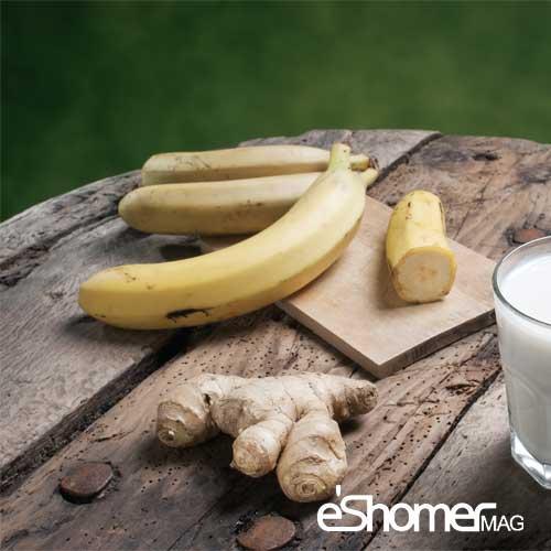 مجله خبری ایشومر banana-ginger-mag-eshomer مخلوط موز و زنجبیل یک چربی سوز تمام عیار سبک زندگي سلامت و پزشکی موز مخلوط عیار سوز زنجبیل چربی تمام افزایش