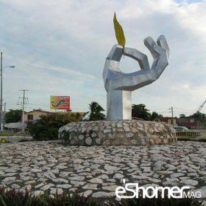 عملکرد دسته بندی مجسمه های شهری و  ارتباط آنها با محیط شهری