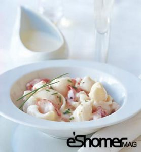 تهیه و پخت انواع غذاهای ایتالیایی  پاستا کانچیگونی