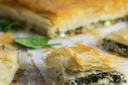 تهیه و پخت انواع غذاهای ایتالیایی پای اسفناج و پنیر ریکوتا