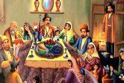 جشن های ایرانی جشن یلدا  تولد میترا و مسیح  شب نشینی بلندترین شب سال