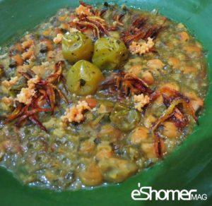 معرفی نحوه پخت مشهورترین غذاهای محلی سنتی ایران –آش ترش شمالی