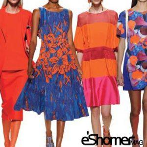 اثرات روانی رنگ نارنجی در طراحی مد و لباس