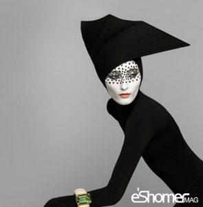 اثرات روانی رنگ سیاه در طراحی مد و لباس