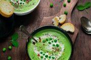 تهیه و پخت انواع غذاهای ایتالیایی سوپ سبز