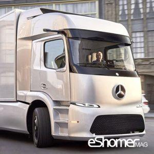 تولید کامیونهای الکتریکی مرسدس بنز با نام eTruck Morphing آغاز شد