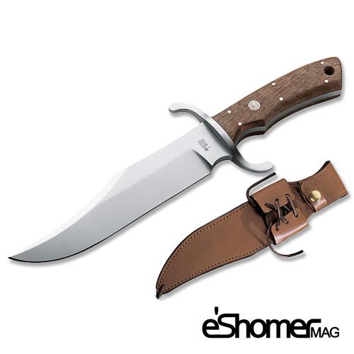 مجله خبری ایشومر Boker-Bowie-چاقوی-شکار چاقو های خاص شکار با طراحی منحصر به فرد Boker Bowie طراحی اکسسوری هنر  منحصر طراحی شکار سولینگن چاقو به فرد Solingen Bowie Boker
