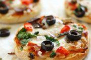 تهیه و پخت انواع غذاهای ایتالیایی مینی پیتزا