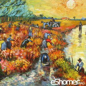 آشنایی با سبک های هنر مدرن و مشخصات آن – پست امپرسیونیسم Post Impressionism